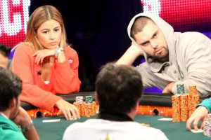WSOP 2011 ME Erika Moutinho David Sands