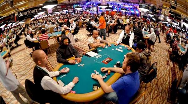WSOP 2011 Main Event Amazon Room