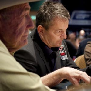 Pokerlegende Doyle Brunson spielte in London