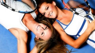 Damen Tennis Teaser