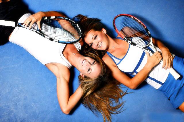 Damen Tennis