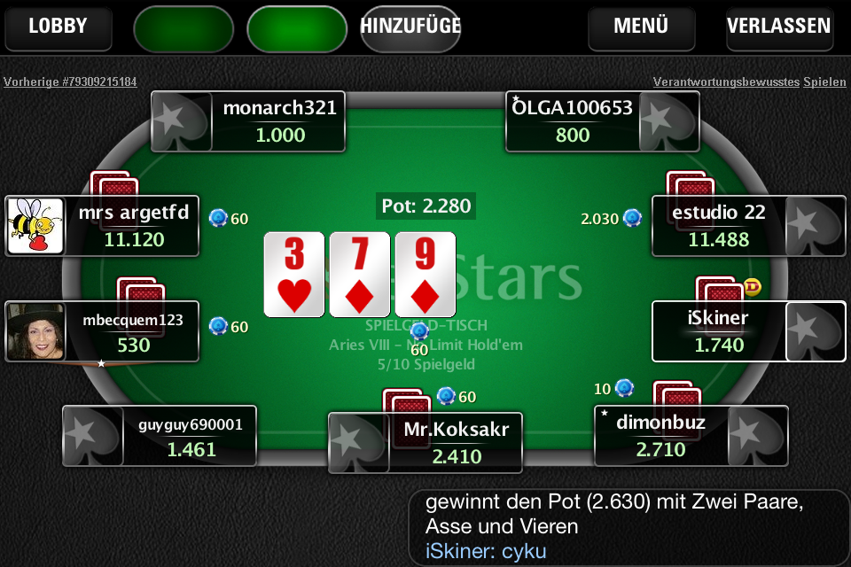 Pokerstars Mit Echtgeld