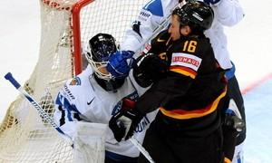 Eishockey-WM Deutschland - Finnland