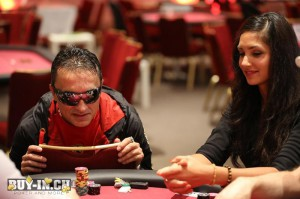 Bianca sissing poker