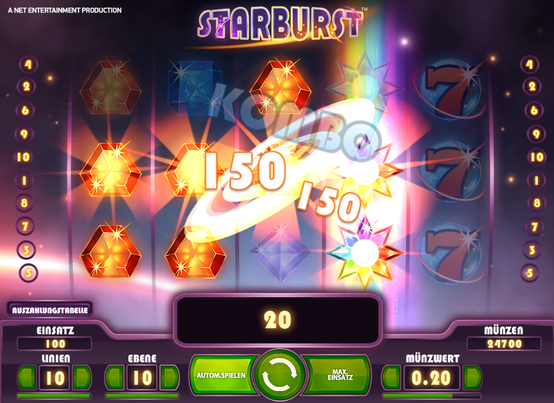 Starburst Free Spins Ohne Einzahlung