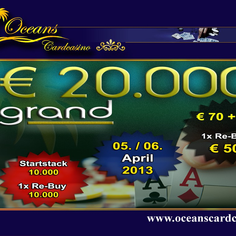 oceans card casino