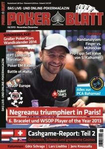 PokerBlatt Cover 06-2013