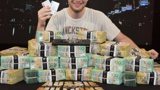 AMI BARER 2014 Aussie Millions Champion