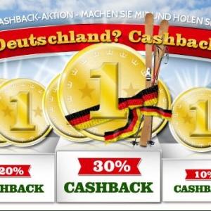 deutsche online casino cashback scene