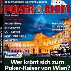 Poker Blatt