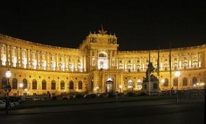 Wien_Hofburg_Nacht