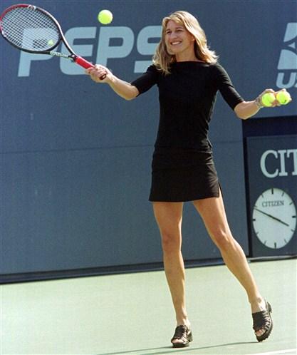 Steffi Graf Beine