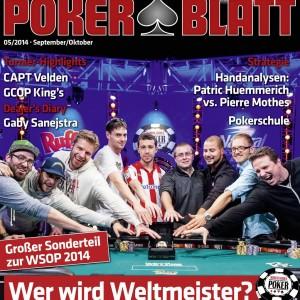 PokerBlatt Cover Ausgabe 05-2014 Klein