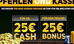 online casino deutschland freunde empfehlen
