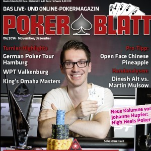PokerBlatt Cover 06-2014
