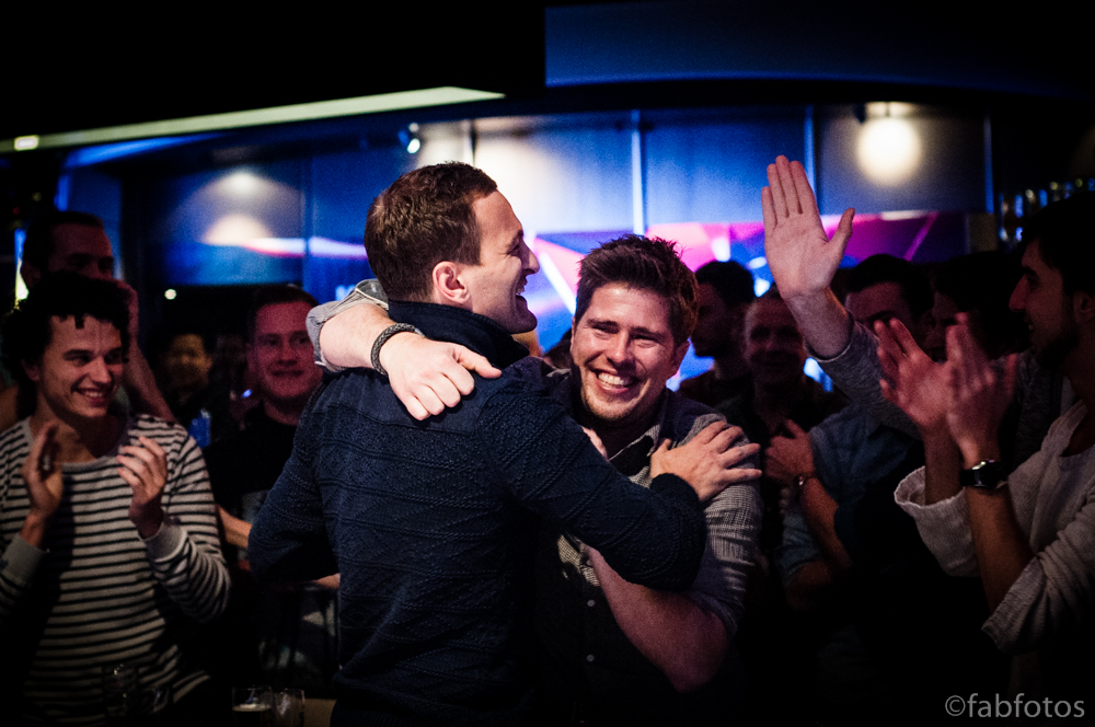 Ruben Visser MCOP Champion 2014 friends