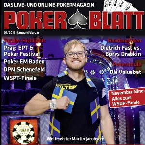 PokerBlatt Cover 01-2015