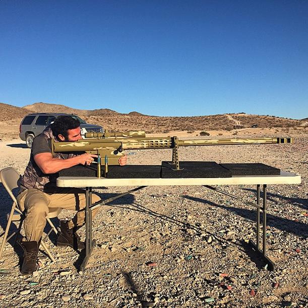 Dan Bilzerian 20mm gun 2014