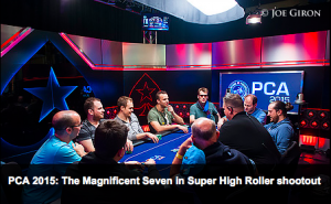 PCA2015 Super High Roller Final Table