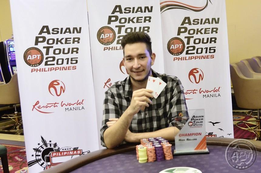 Manuel Blaschke APT Philippines High Roller