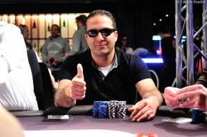 Main Event 1b Eurek Poker Tour 5 Hamburg  Imad Fakhro chip leader 1b  Tomas Stacha_4STA_7812