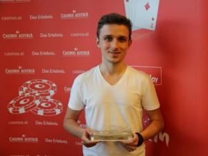 Rafael Schreiner Sieger beim €300 THNL Side-Event