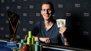 Mike McDonald EPT Malta High roller Champion