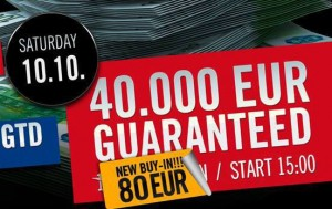 Teaser One Day 40 k GTD €80