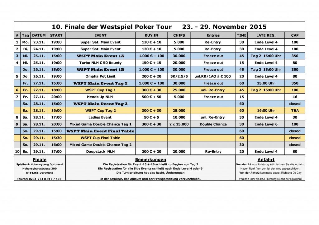 WSPT Schedule Neu