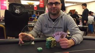 Ioannis Marneros (CYP) gewann das PLO Side-Event