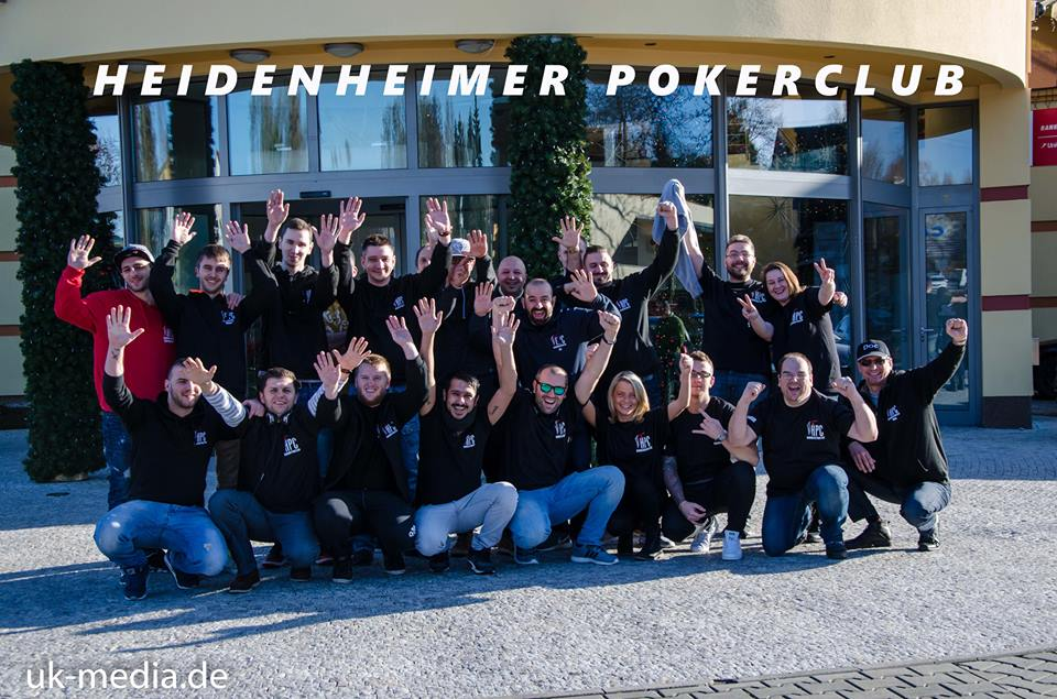 Der Heidenheimer Poker Club im King's Casino