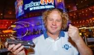 Poker Europameister Simon Boss (SUI)