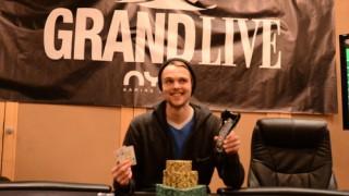 Ranno Sootla (EST) gewann das Grand Live Main Event für €64.371