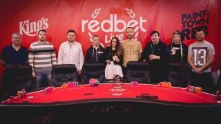 RedBet Live Main-Event Finalisten