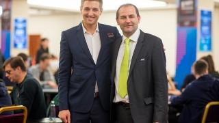 Tony Dunst & Turnierdirektor Christian Scalzi