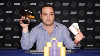 Winner Event 9 €1.100 Thom Crombach (Ned)