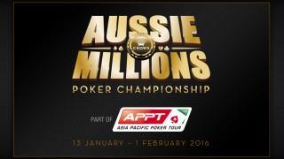 Aussie Millions 2016 Logo