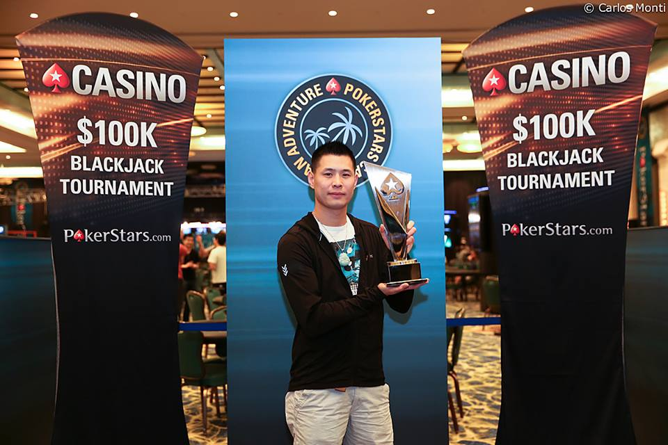 Black Jack Tournament Gewinner Kieu Lam