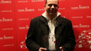 CAPT Innsbruck Main Event Sieger Thomas Wagermaier (AUT)
