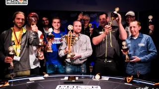Die Gewinner der Deutschen Bracelet Meisterschaft 2015