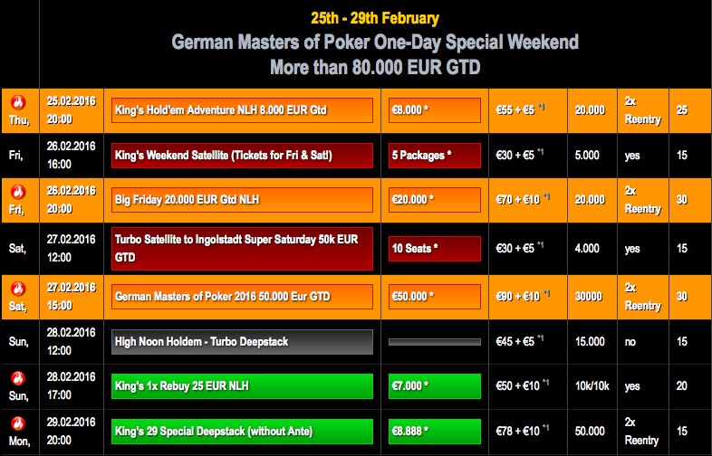 German_Masters_Schedule