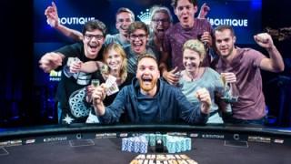 Fabian Quoss der glückliche Gewinner