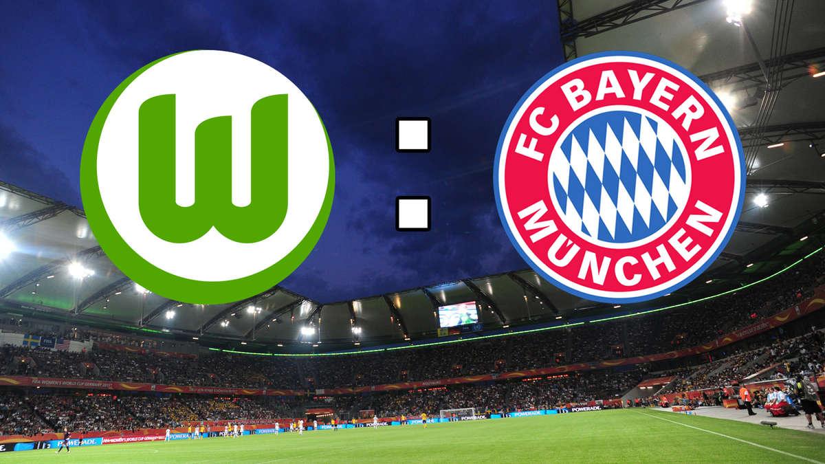 Pokalspiel Wolfsburg Gegen Bayern