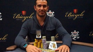 David Malka (USA) holt sich den Ring beim High Roller Event