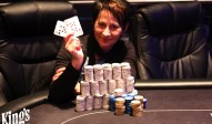 Marion Storch holt den Sieg beim Local Hold' em Deepstack