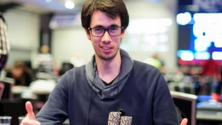 Overall Chipleader Quentin Dellis (BEL)