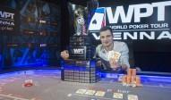 Vlad Darie (ROM) gewinnt die WPT Wien