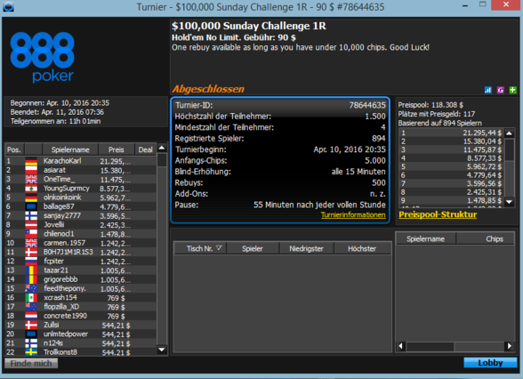 100k Sunday Challenge