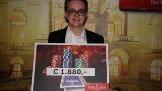 David Koglgruber gewinnt das Shot Clock Turnier