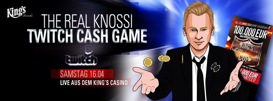 Knossi Twitch Cash Game 2